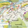 Kartenbildmuster Wanderkarte und Stadtplan Wernigerode