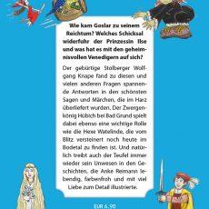 """Rückseite des Titels """"Die schönsten Harzer Märchen und Sagen"""""""