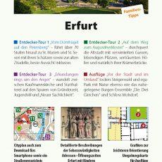 Rückseite des Reiseführers Erfurt