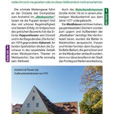 Innenansicht des Reiseführers Erfurt