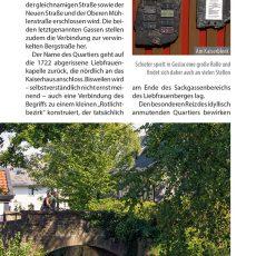 Innenansicht des Reiseführers Goslar
