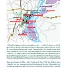 Innenansicht des Reiseführers Magdeburg