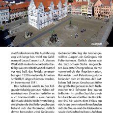 Innenansicht des Reiseführers Wittenberg