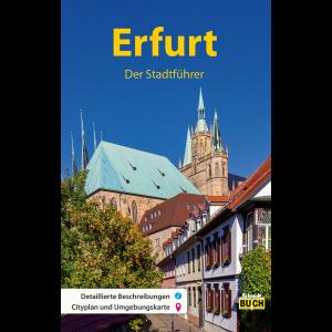 """Titelbild des Reiseführers """"Erfurt der Stadtführer"""""""