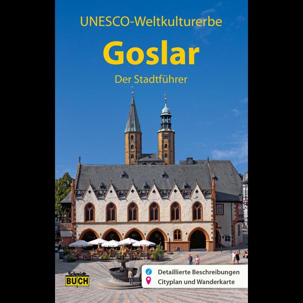 """Titelbild des Reiseführers """"Goslar der Stadtführer"""""""