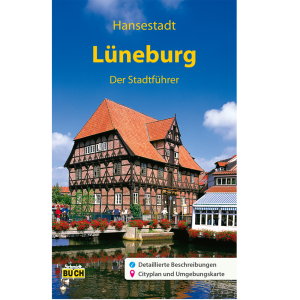 """Titelbild des Reiseführers """"Lüneburg - Der Stadtführer"""""""