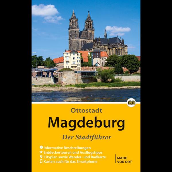 """Titelbild des Reiseführers """"Magdeburg - Der Stadtführer"""""""