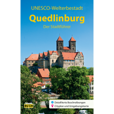 """Titelbild des Reiseführers """"Quedlinburg der Stadtführer"""""""