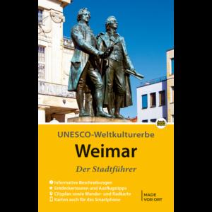 """Titelbild des Reiseführers """"Weimar der Stadtführer"""""""