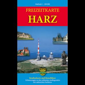 Titelbild der Freizeitkarte Harz