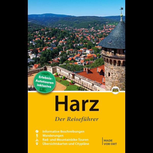 Titelbild des Harz Reiseführers