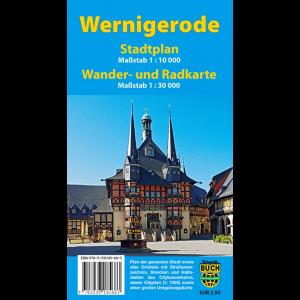 Titelbild des Stadtplans Wernigerode
