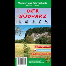"""Coverbild der Wander- und Fahrradkarte """"Der Südharz"""""""