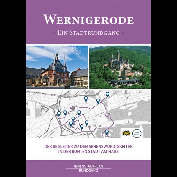 """Titelbild des Kurzführers """"Wernigerode - Ein Stadtrundgang"""""""