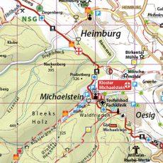 Kartenbild der Luchskarte Klosterwanderweg