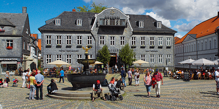 Reiseführer Goslar Marktplatz