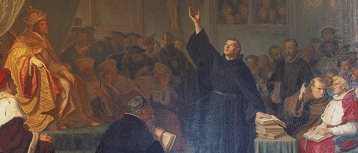 Reiseführer Luther Gemälde Worms