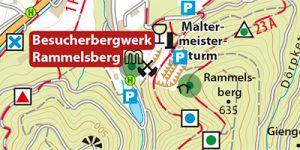 Umgebungskarte Goslar