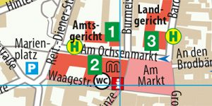 Stadtplan Lüneburg