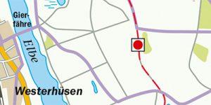 Umgebungskarte Magdeburg
