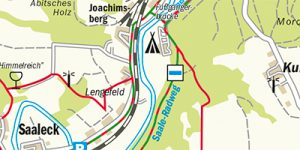 Umgebungskarte Naumburg