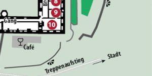 Grundriss Schloss Stolberg