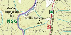 Umgebungskarte Stolberg