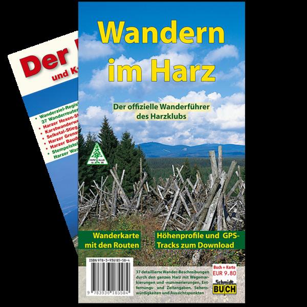 """Titelbild des Wanderführers """"Wandern im Harz"""""""