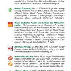 """Seite 7 aus dem Wanderführer """"Wandern im Harz"""""""