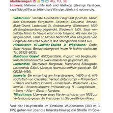 """Seite 10 aus dem Wanderführer """"Wandern im Harz"""""""