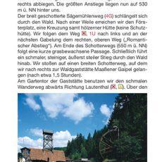 """Seite 11 aus dem Wanderführer """"Wandern im Harz"""""""