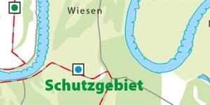 Umgebungskarte Wittenberg