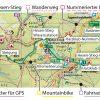 Kartografische Ausstattung der offiziellen Karte zum Harzer Hexen-Stieg (wetterfest)