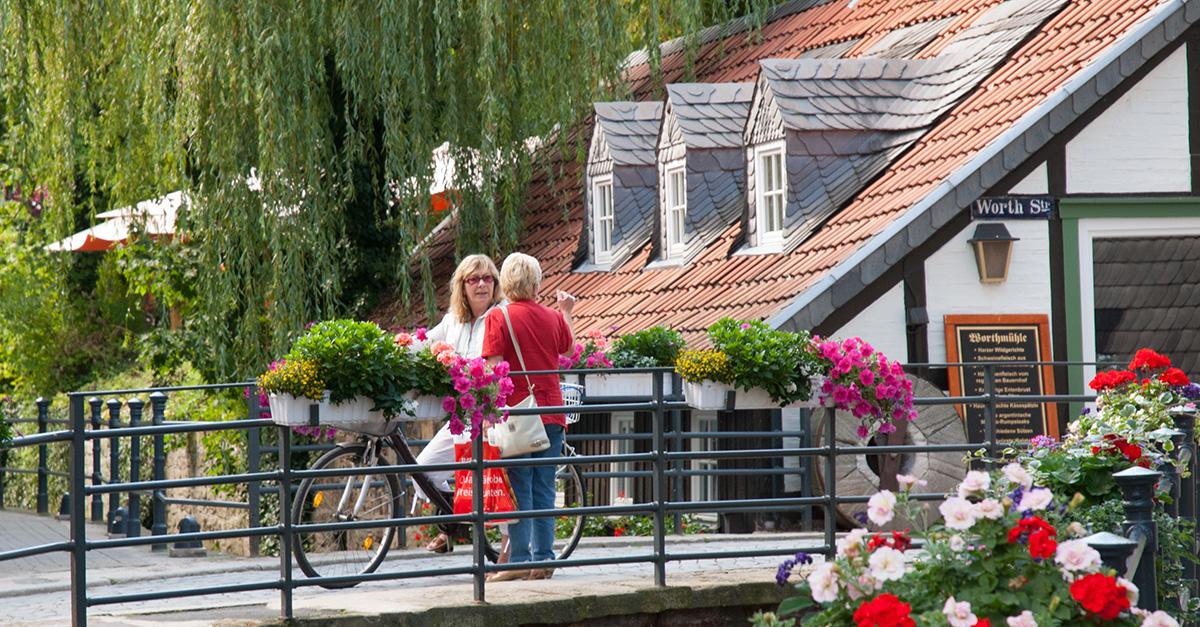 Straßenszene in Goslar