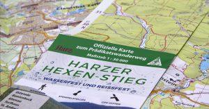 Wetterfest navigieren auf dem Harzer Hexen-Stieg