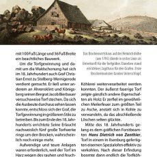 Innenansicht des Reiseführers Brocken