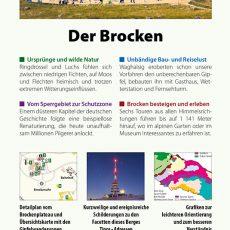 Backcover des Reiseführers Brocken