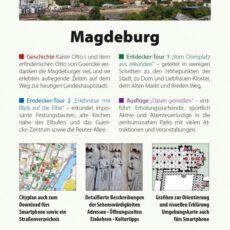 Reisefuehrer Magdeburg Backcover