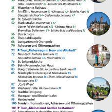 Inhaltsverzeichnis des Reiseführers Wernigerode