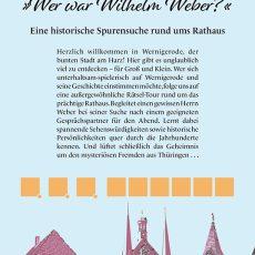 Innenansicht des Reiseführers Wernigerode