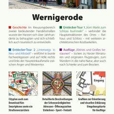 Backcover des Reiseführers Wernigerode