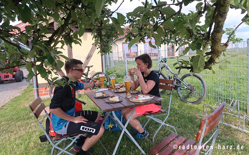 Pause in Sophienhof