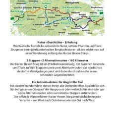 Wanderfuehrer Harzer Hexen-Stieg Backcover