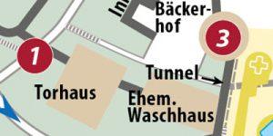 """Grafik aus dem Reiseführer """"Wernigerode - Der Stadtführer"""""""