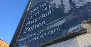 Grafiken von Sabina Grzimek in Quedlinburg