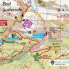 Kartenbildmuster der offiziellen Wanderkarte zum Selketal-Stieg