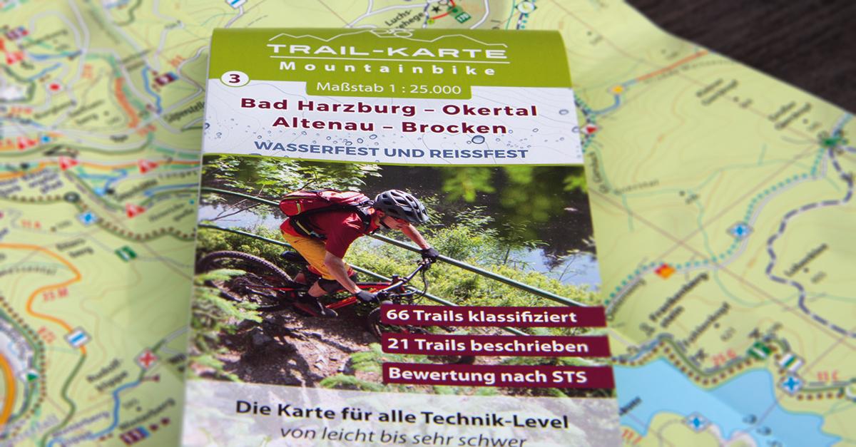 Neue MTB-Karte Bad Harzburg - Okertal