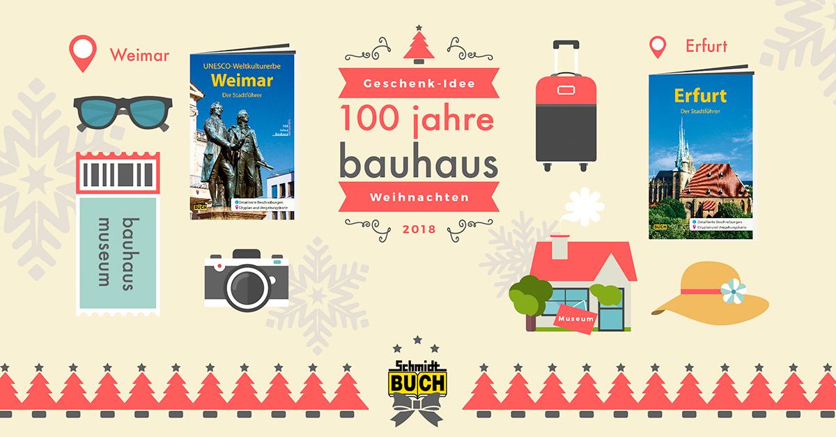 Buch Geschenk Weihnachten.Geschenk Idee Weihnachten Bauhaus Jubiläum Schmidt Buch Verlag
