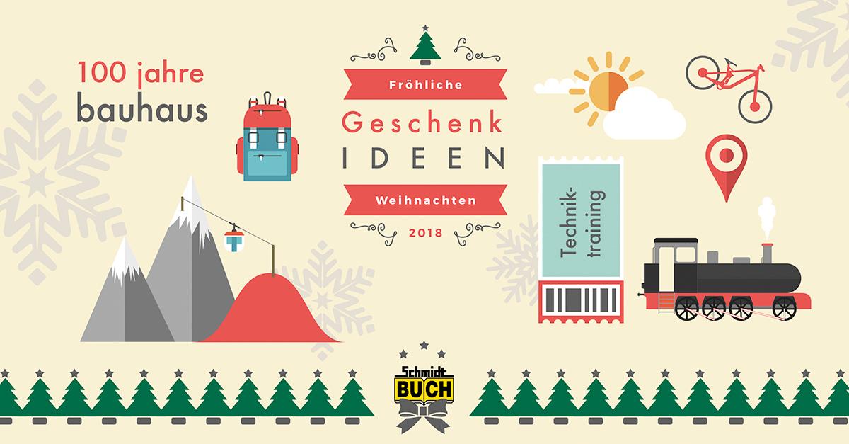 Geschenk-Idee Weihnachten Harz und Bauhaus Weimar