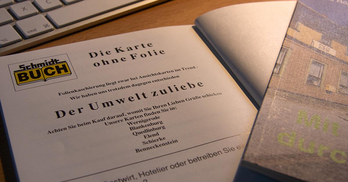 Buch: Mit Volldampf durch den Harz von 1991